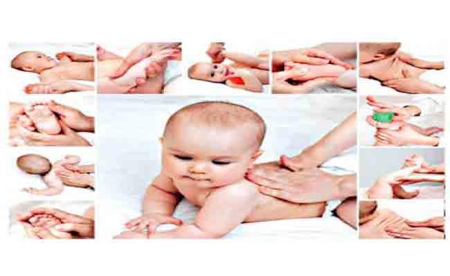 تمرينات للمولود من عمر شهرين إلى ستة أشهر