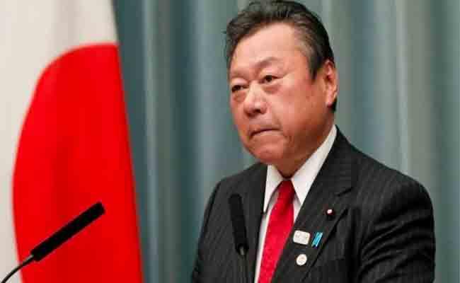 وزير الأمن السيبراني في اليابان لم يلمس جهاز كمبيوتر في حياته من قبل