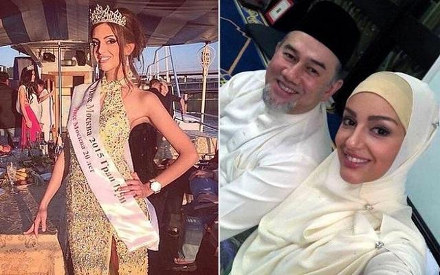 فيديو فاضح لزوجة ملك ماليزيا