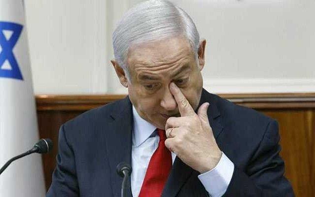 رئيس الوزراء الإسرائيلي نتنياهو فوق صفيح ساخن
