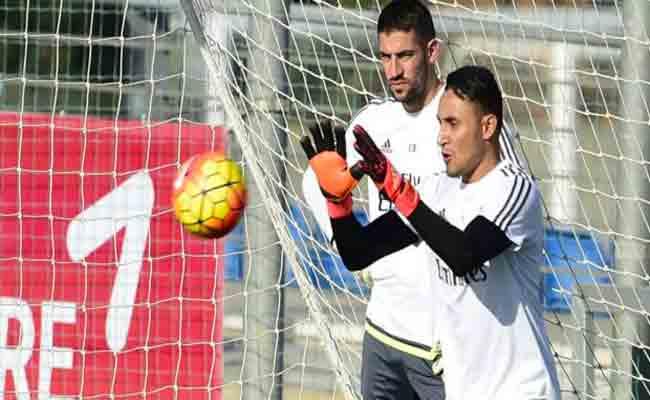 نافاس يقرر الرحيل عن ريال مدريد