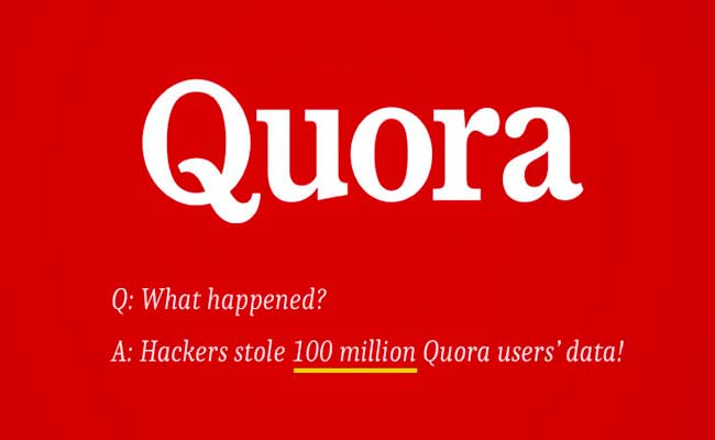 تم اختراق الشبكة الإجتماعية Quora وسرقة ملايين بيانات المستخدمين