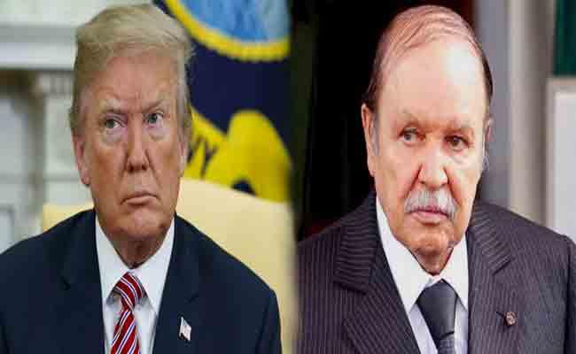 رئيس الجمهورية يعزي  ترامب و جورج بوش في وفاة جورج ولتر بوش