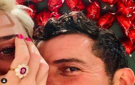أورلاندو بلوم يتقدم لخطبة كاتي بيري في يوم الحب..وخاتم نفيس بسعر