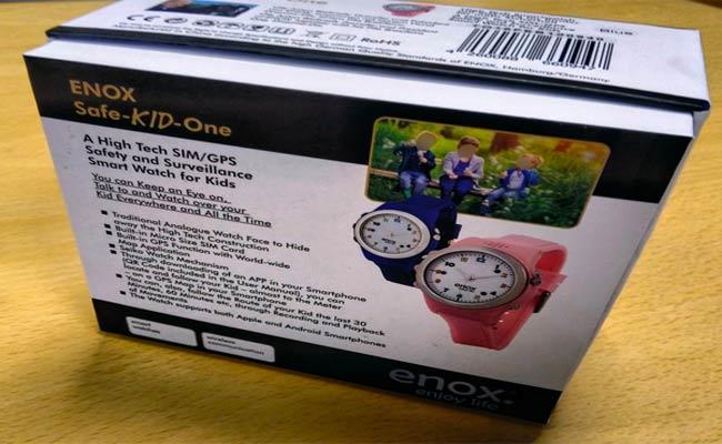 هذه الساعة الذكية يمكن أن تكون جهاز تجسس على الأطفال...