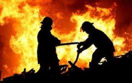 حريق  يدمر 11 صهريجا لتخزين البتروكيماويات في تكساس