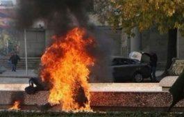 فلسطيني يحرق نفسه بسبب وحشية قمع حماس للمظاهرات