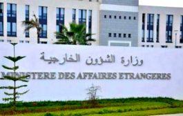 إدانة جزائرية للاعتداء الإرهابي الذي استهدف قاعدة عسكرية بمالي