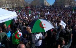 الجالية الجزائرية بباريس تتظاهر للمرة الرابعة مطالبة بتغيير