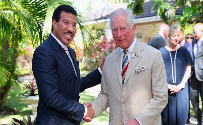 ليونيل ريشي يتقلد منصب سفير صندوق الأمير تشارلز الدولي لتنمية الشباب