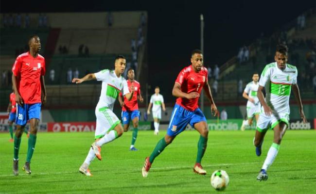 تعادل سلبي للخضر امام غامبيا