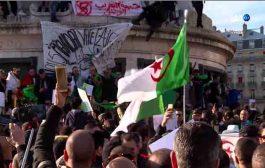الآلاف من الجزائريين ينظمون بفرنسا مظاهرات تطالب بالتغيير