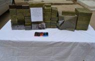 اعتقال 7 تجار للمخدرات و حجز 8 قناطير من الكيف المعالج جنوب البلاد