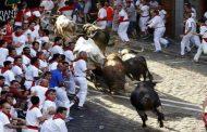 مهرجان الثيران ينطلق ببنبلونة الاسبانية