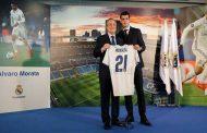 ريال مدريد يقدم موراتا للصحافة الاسبانية
