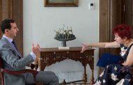 مفاجأة  .. الصحفية التي أجرت المقابلة مع الأسد
