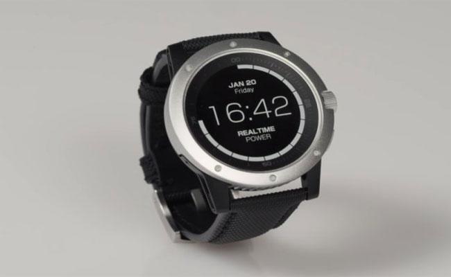 PowerWatch : ساعة ذكية من ماتركس لا تحتاج منك إعادة شحنها