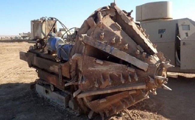 هذه هي الآلة (الوحش) والتي بنى بها داعش مدن تحت الأرض
