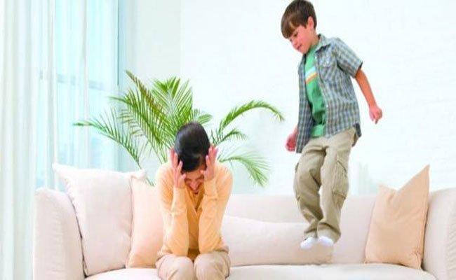 طفلي شقي أو يعاني من فرط الحركة