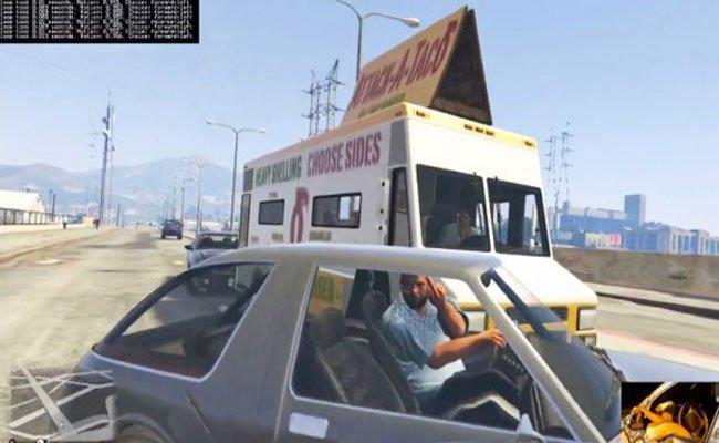 ذكاء اصطناعي يتعلم القيادة على لعبة GTA V