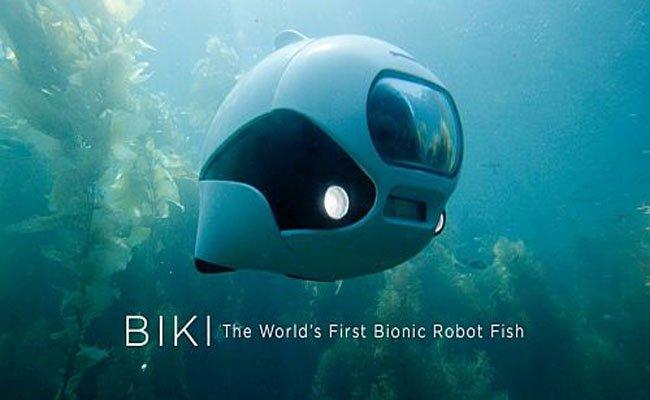 Biki : الدرون السمكة لتسجيل الفيديوهات 4K تحت الماء