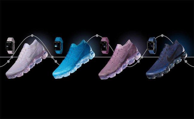 أساور جديدة لساعات أبل ووتش من نايك تتناسب مع لون حذاءها الرياضي الجديد