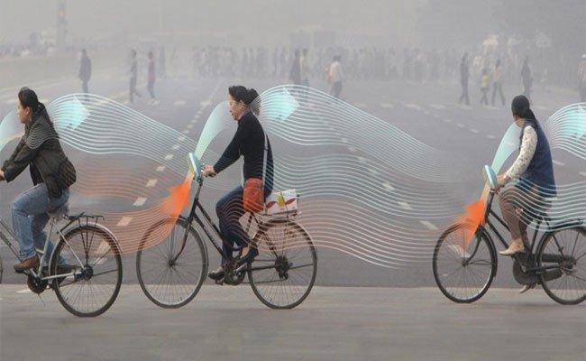 هذه الدراجات الهوائية تقوم بتصفية الهواء