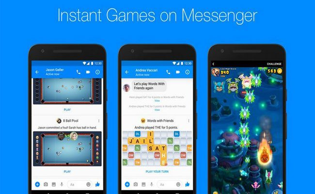 الفيسبوك تعلن عن نشر عام للألعاب على تطبيقها ماسنجر