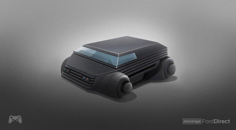 تصاميم لسيارات مستوحاة من 8 وحداة ألعاب الأكثر شعبية