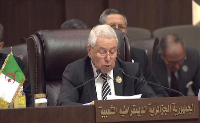 بن صالح يؤكد على أن الجزائر تشدد على ضرورة إرساء قواعد تعاون في مجال مكافحة الإرهاب بين دول الحوض المتوسط