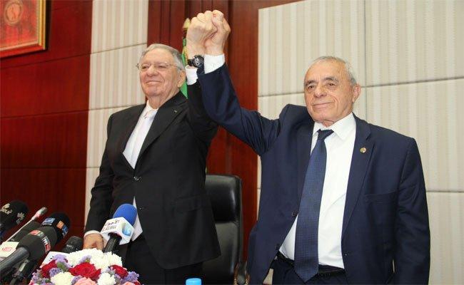 السعيد بوحجة رئيسا للمجلس الشعبي الوطني بـ356 صوتا