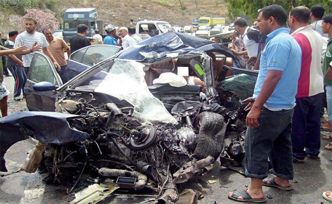 حرب الطريق تخلف مصرع 29 شخصا و إصابة 1414 آخرون في 1206 حادث مرور