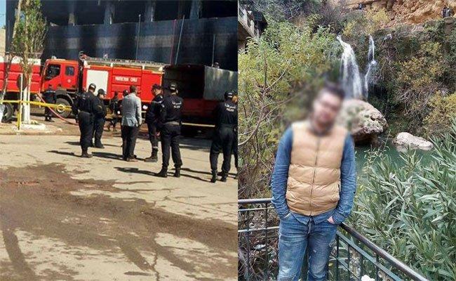 انفجار قارورة غاز يتسبب في مقتل حارس في حريق بمركز تجاري بوهران