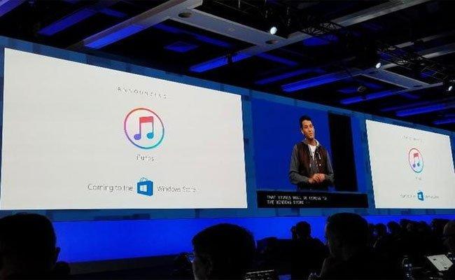 قريبا : تطبيق iTunes على متجر مايكروسوفت ويندوز ستور