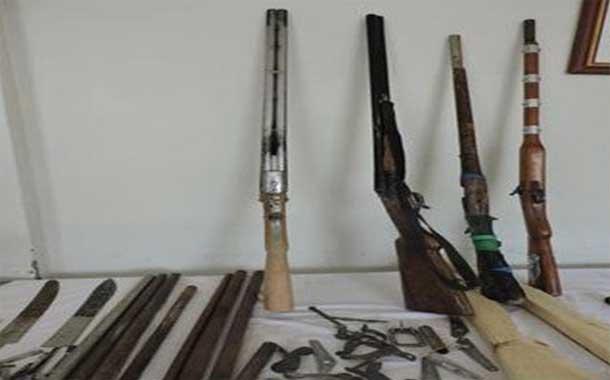 اكتشاف ورشة سرية لصناعة الأسلحة النارية و توقيف شخصين بولاية البيض