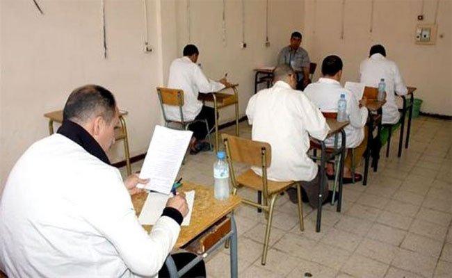 أزيد من 34 ألف سجين عبر مختلف المؤسسات  العقابية خاضوا امتحانات إثبات المستوى  في ظروف