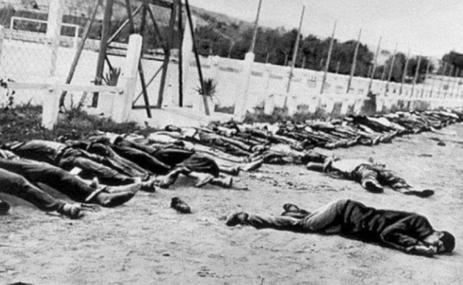 مسيرة من النساء ترتدين الملاءة السوداء بقالمة تخليدا للذكرى الـ72 لمجازر 8 مايو 1945