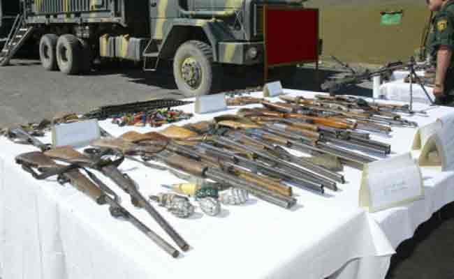 مداهمة ورشة سرية  لصناعة الأسلحة التقليدية ببلدية واد الأبطال بمعسكر و توقيف المتورطين