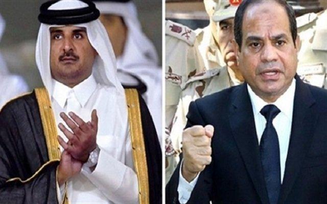 دبلوماسي مصري يهتف تحيا فرنسا وتسقط قطر
