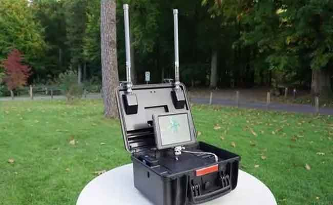 DJI AeroScope : رادار للتجسس على الدرونات