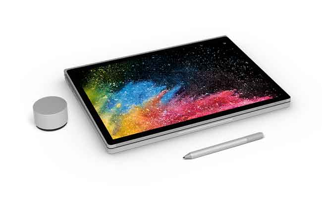 Surface book 2 : مايكروسوفت تكشف عن كمبيوتر محمول جديد