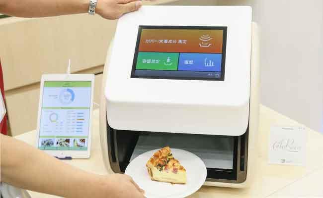 هذه الآلة يمكنها تحديد السعرات الحرارية مباشرة من الطبق