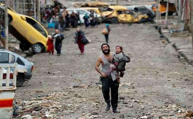 كيف يعيش أطفال الموصل؟