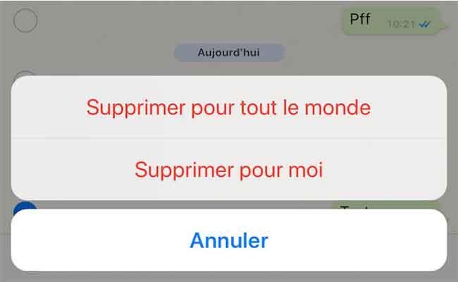 واتسب تضيف إمكانية حذف الرسائل من جهاز المرسل والمتلقي
