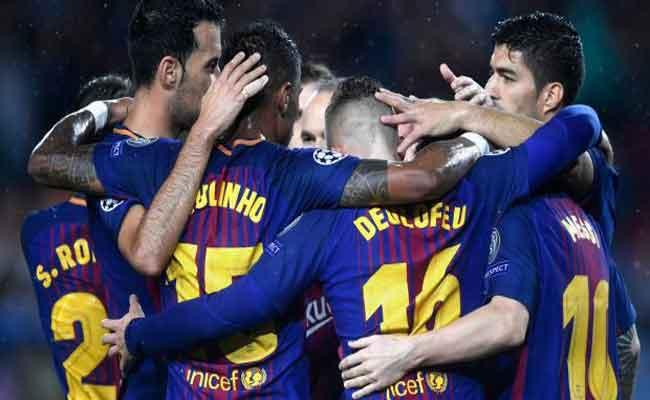 برشلونة يتأهل لثمن نهائي الكأس