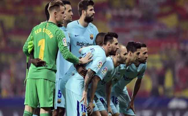 برشلونة يتعادل مع الأتلتيكو بصعوبة