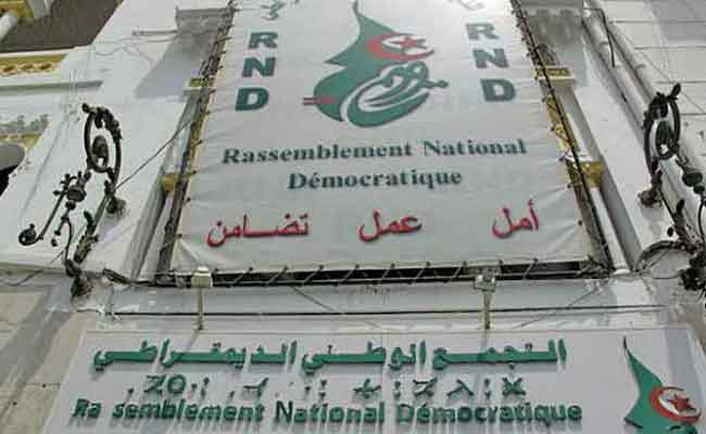 التجمع الوطني الديمقراطي يشارك في المحليات بـ48 قائمة للمجالس الشعبية الولائية و  1521 قائمة  للمجالس الشعبية البلدية