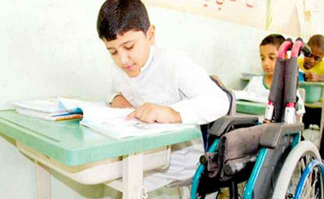 تخصيص أكثر من 6000 منصب لتدعيم مجال تعليم و إدماج  التلاميذ ذوي الاحتياجات الخاصة