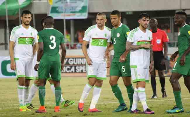 الخضر يتعادلون إيجابيا أمام نيجيريا