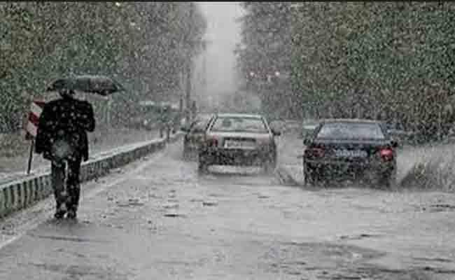 نشرية خاصة  تتوقع سقوط أمطار رعدية على المناطق الساحلية والقريبة من السواحل للوسط الشرقي وشرق البلاد ابتداء من غد الاثنين